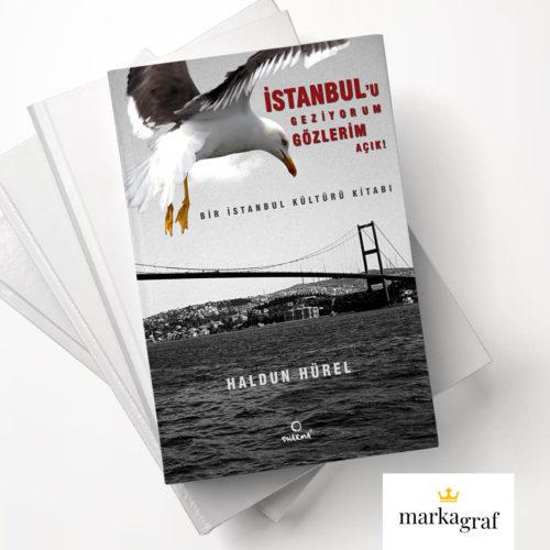 İstanbul'u Geziyorum Gözlerim Açık - Dharma Yayınları